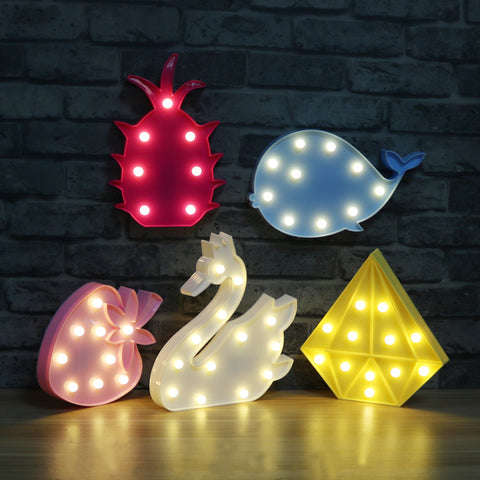 Marquee Decoration Night Lamps - Gifts On The Tree
