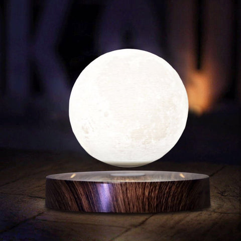 Magnetic Levitating Floating Moon Lamp - Gifts On The Tree