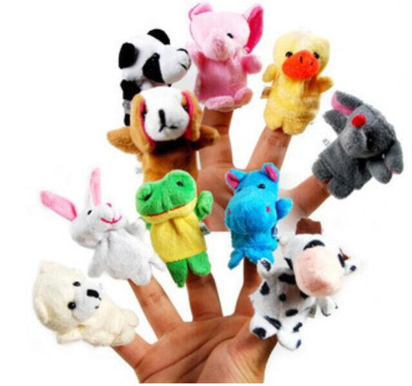 10PCs Mini Finger Puppets Set - Gifts On The Tree
