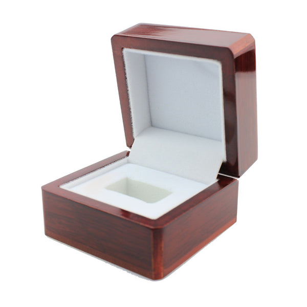 Wooden Box For Ring Display - Gifts On The Tree