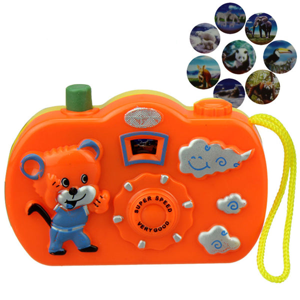 Light Projection Camera Kids Toys - Gifts On The Tree