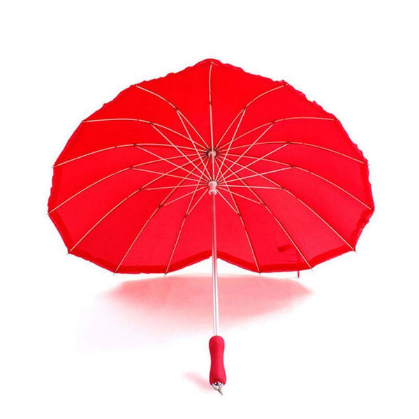 Heart Shape Umbrella for Women - Gifts On The Tree