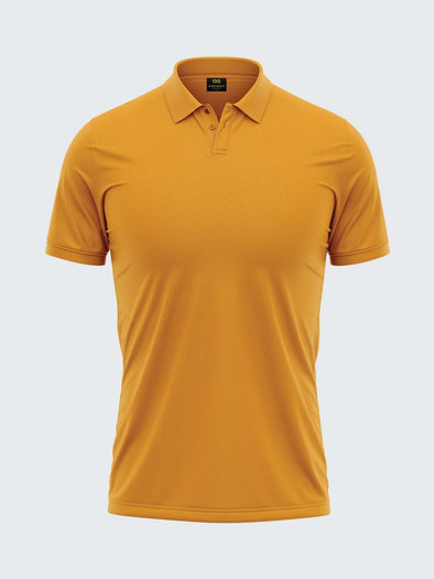 Mars Dry Fit Men's Polo T-Shirt Yellow - 1841YW - Sportsqvest