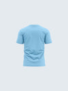 Kids Light Blue Active Round Neck T-Shirt - 1911LB