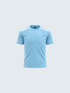 Kids Light Blue Round Neck T-Shirt - 1911LB