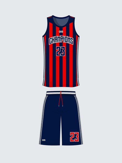 Custom Basketball Sets - Teamwear - BS1011 - Sportsqvest