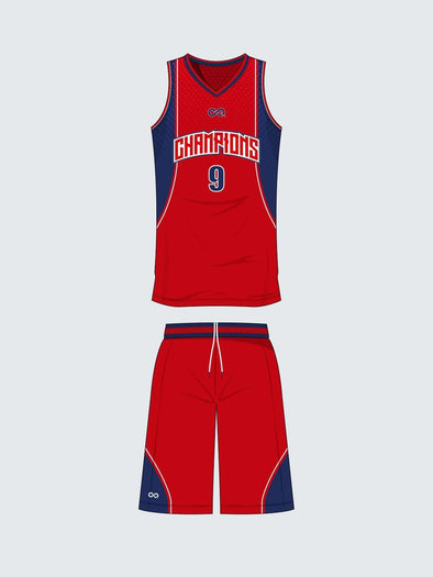 Custom Basketball Sets - Teamwear - BS1014 - Sportsqvest