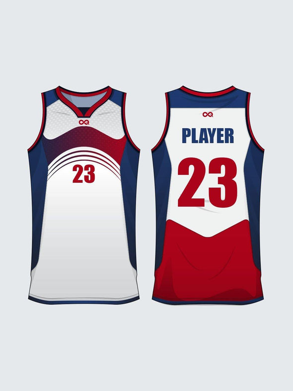 Custom Abstract Basketball Jersey-BT1019