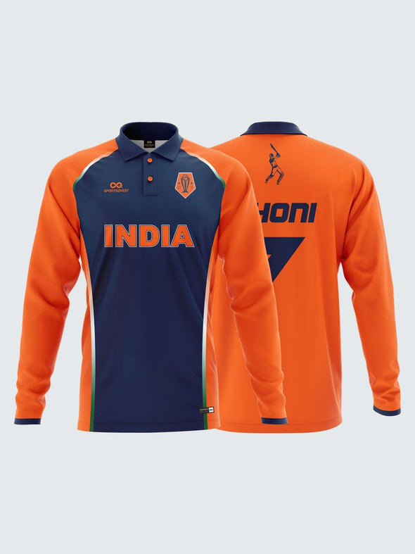 customized indian team jersey