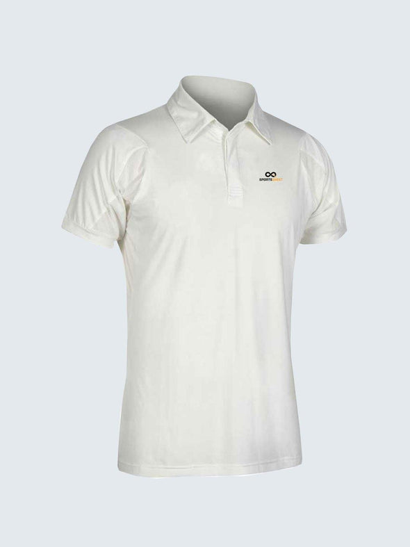 Men Cricket Whites Jersey CW04 :19 - Sportsqvest