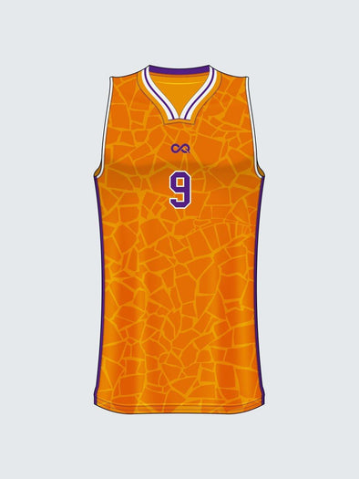 Custom Abstract Basketball Jersey Design 6