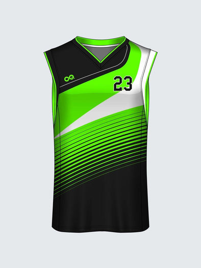 Custom Abstract Basketball Jersey Design 7