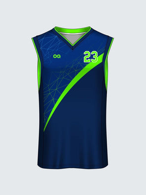 Custom Abstract Basketball Jersey Design 8