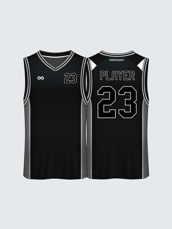 Custom Solid Basketball Jersey-BT1013