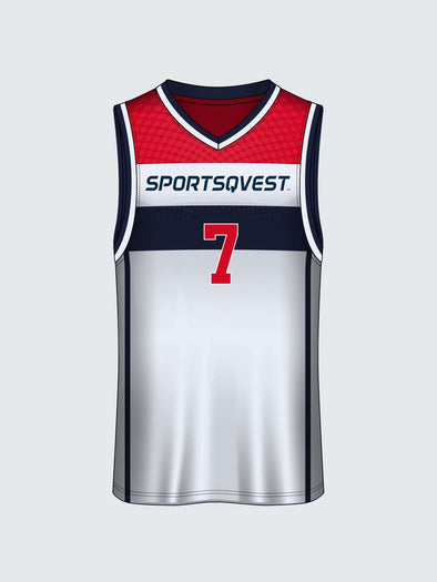 Custom Striped Basketball Jersey-BT1007