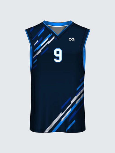 Custom Striped Basketball Jersey-BT1008