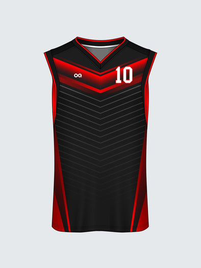 Custom Striped Basketball Jersey-BT1015