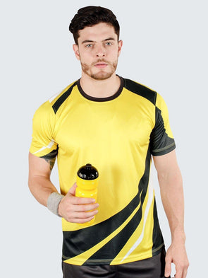 Custom Corporate Sublimated Polyester T-Shirts - Sportsqvest