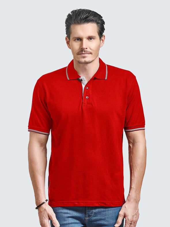 Custom Leisure Double Tipping Polo