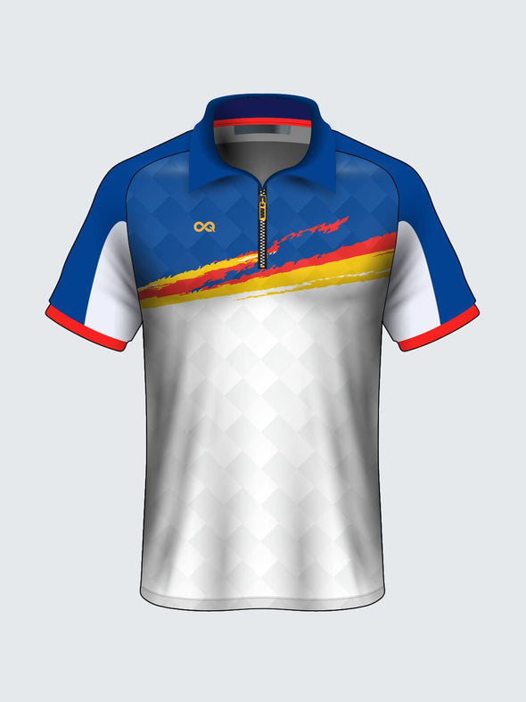 Customise Polo Abstract Cricket Jersey-CT1001