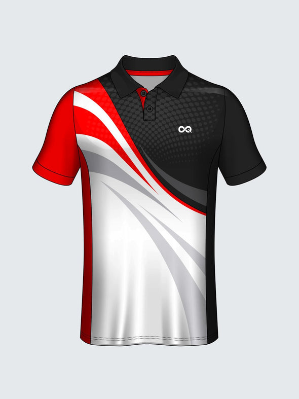 Customise Polo Self Design Cricket Jersey-CT1006