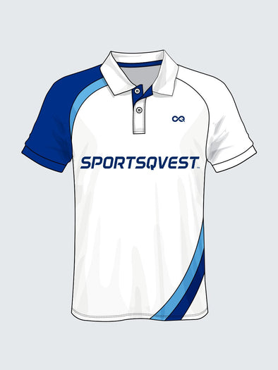 Customise Polo Solid Cricket Jersey-CT1007