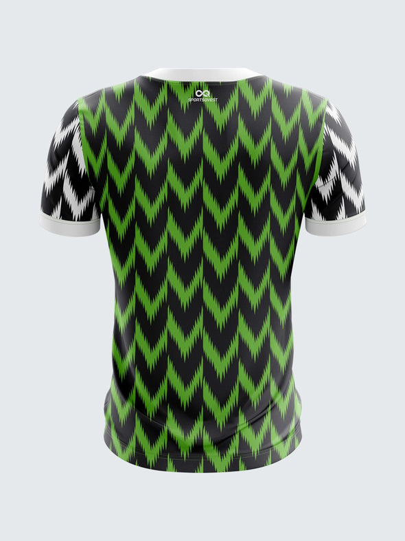 Custom Printed Concept Jersey Nigeria National Home 2018-IN1022