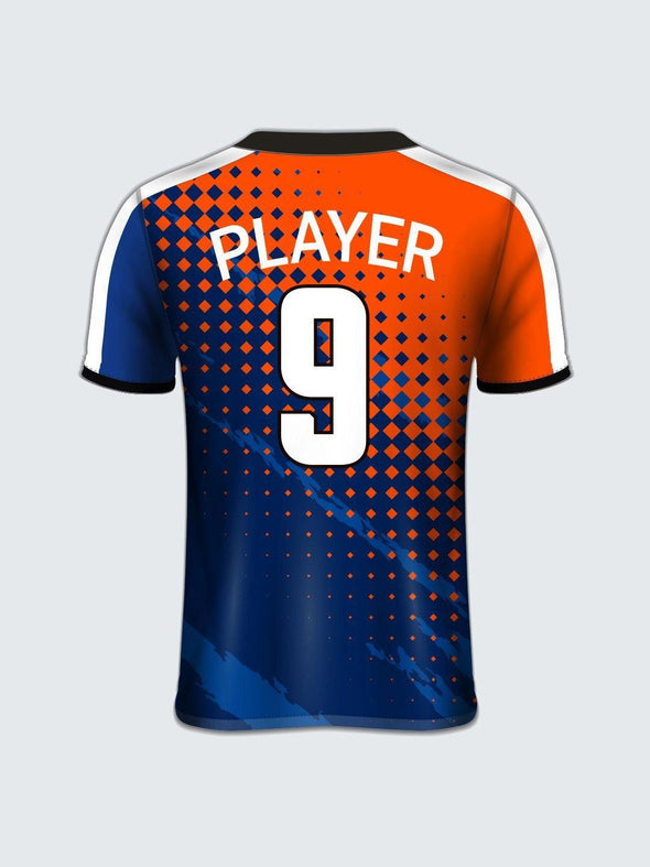 Customise Abstract Football Jersey-FT1012 - Sportsqvest