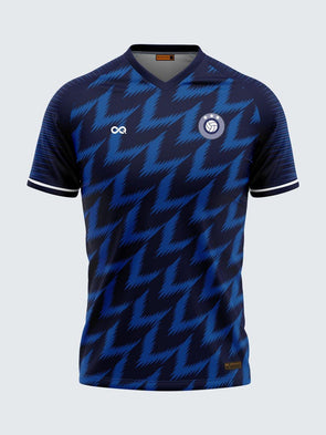 Nigeria Blue Concept Football Jersey