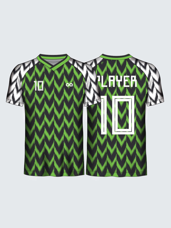Customise Nigeria Concept Football Jersey-FT1006
