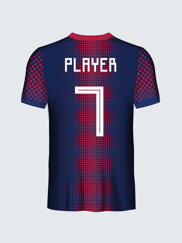 Customise Polka Dots Football Jersey-FT1009