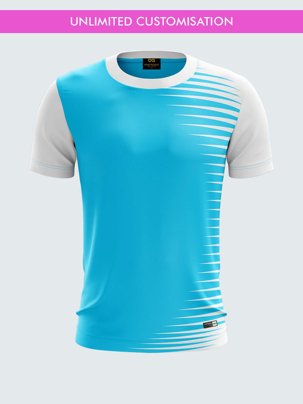 Custom Printed Striped Sports Jersey-IN1004