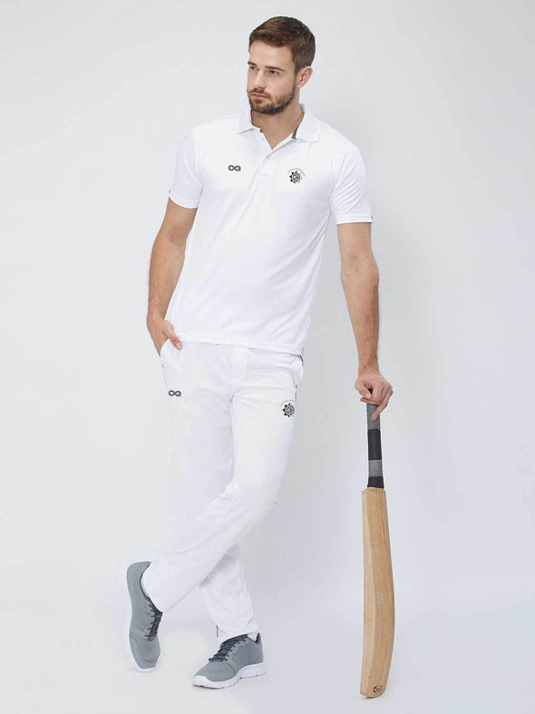 Men White Cricket Pants -A10014WH
