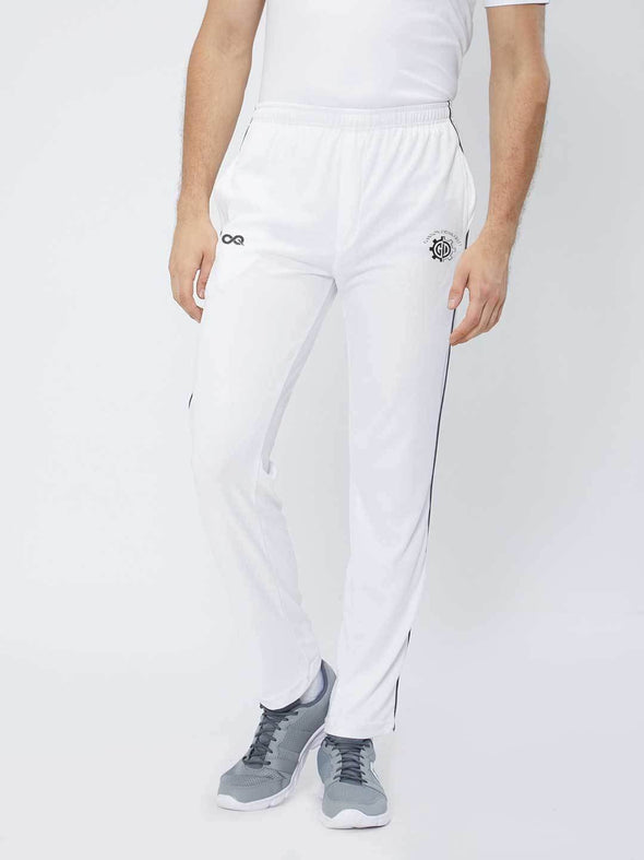 Men White Cricket Pants -A10014WH Track Pants Sportsqvest