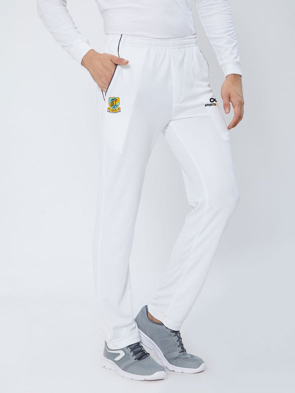 Men White Cricket Pants - A10017WH