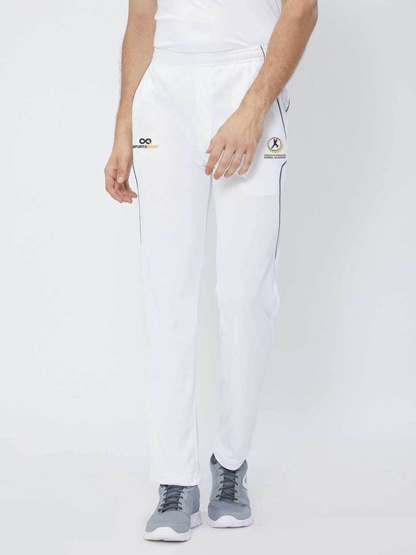 Men White Cricket Pants - A10013WH