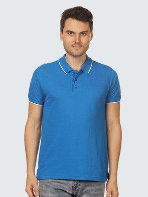 Custom Corporate Single Tipping Polo - Sportsqvest