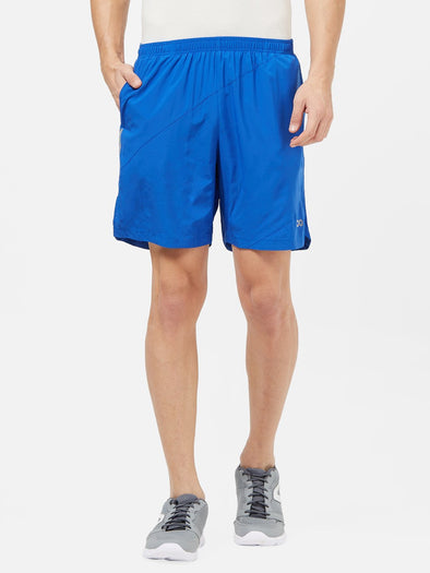 Men Royal Blue Solid Sports Shorts-A10090RB Sportsqvest