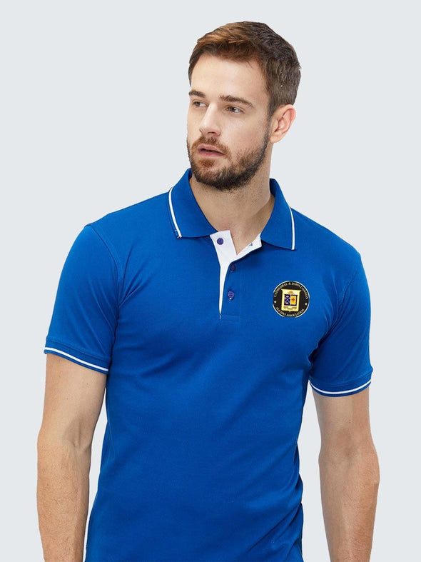 Custom Corporate Tipping Polo