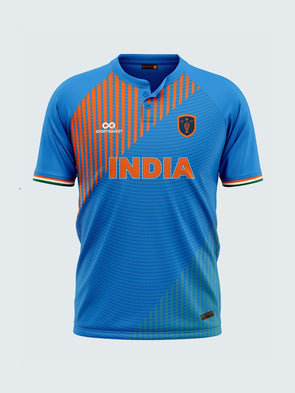 T20 India Blue Concept Fan Jersey-IN1011