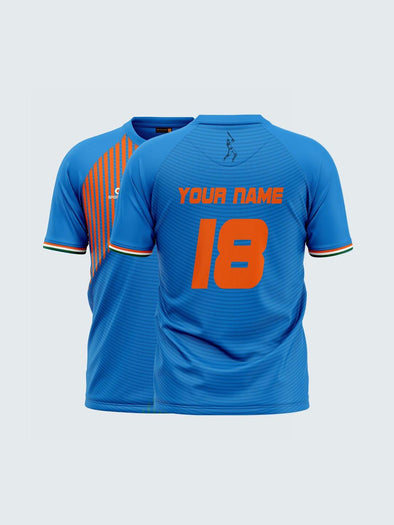 Customise T20 India Blue Concept Fan Jersey-CIN1012 - Sportsqvest