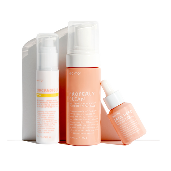 Daily Essentials Skin Care Set, Go-To Skin Care