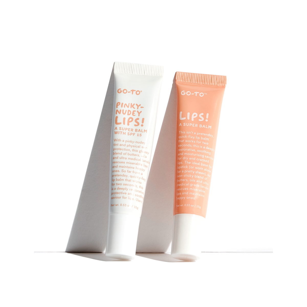 Lips Squared, Lip Balm Set, Go-To Skin Care