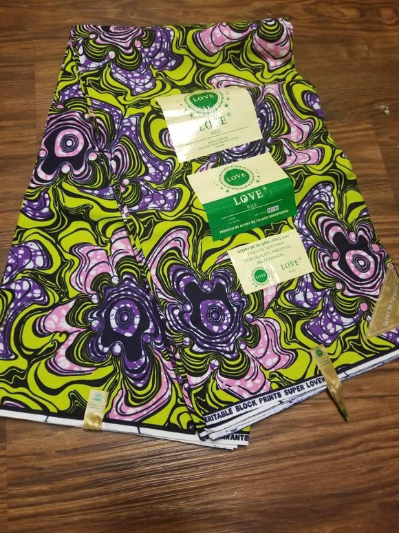 Elegant ankara Fabric, Multicolor ankara fabric,sewing, wall art, African fabric, Nigerian print, wax.