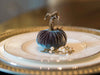 bluegraygal Place Setting pumpkin. Thanksgiving Table settings.