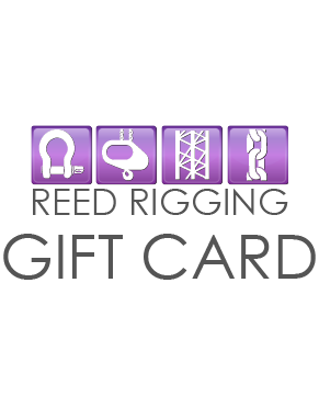 Reed Rigging Gift Card - on sale now 10% off