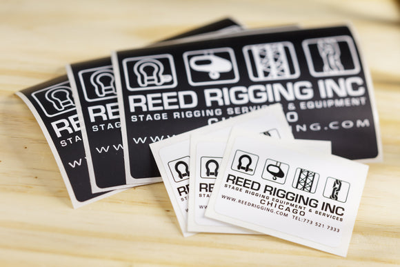 Reed Rigging Sticker Pack
