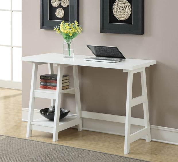 Convenience Concepts Designs2Go Trestle Desk 581