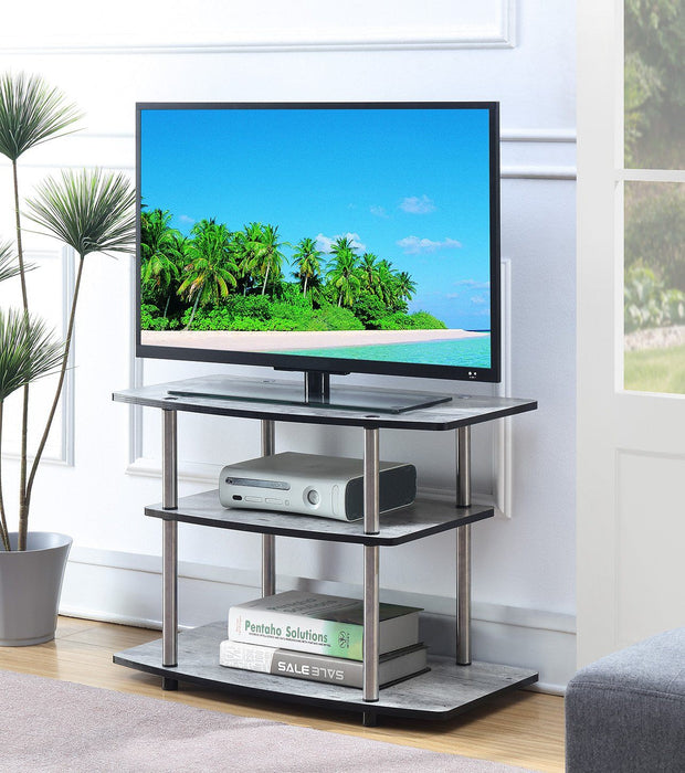 Convenience Concepts Designs2Go 3 Tier TV Stand 406