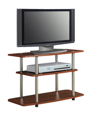 Convenience Concepts Designs2Go 3 Tier TV Stand 339